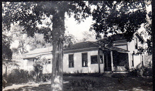 Hickory trees shading Hickory Hurst Farm, 1920