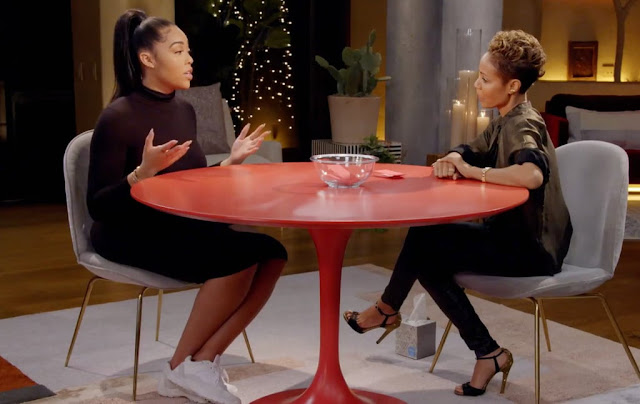 FULL VIDEO Of Jordyn Woods Interview On Red Table Talk… She Denies Sleeping With Tristan