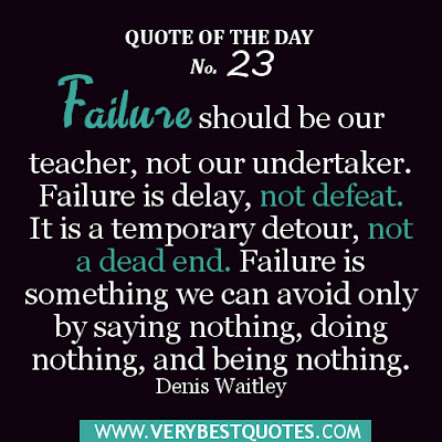 Strategies so failure is not an option in the classroom