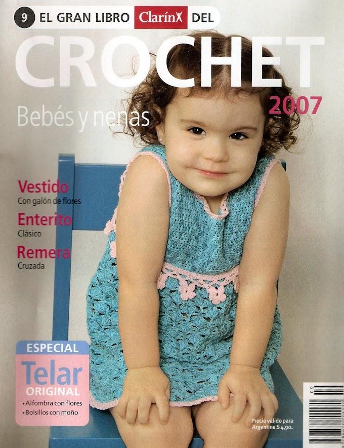 Grande Livro Do Crochê -N°9-Ano 2007-Revista Crochê Bebês