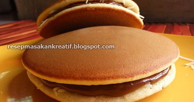 Resep Kue Ikan Jepang: Resep Dorayaki Teflon Praktis Coklat Keju Kue Asli Jepang