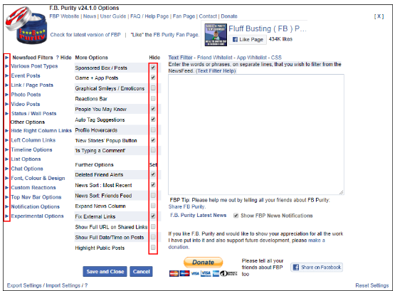How to Filter and Hide Unwanted Content on Facebook.