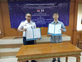 Paket 8 Tentang Jasa Konsultan Pembangunan Pelabuhan Patimban Ditandatangani