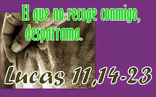 Resultado de imagen para Lucas 11,14-23