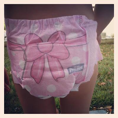 pulled aside Panties