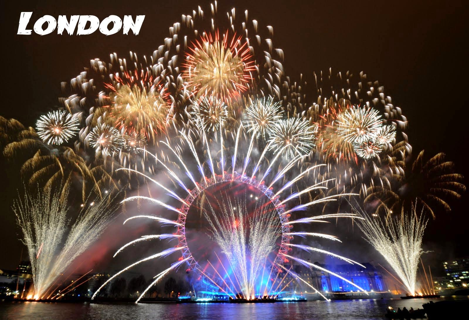 Happy New Year Eve Fireworks Images 2018 london