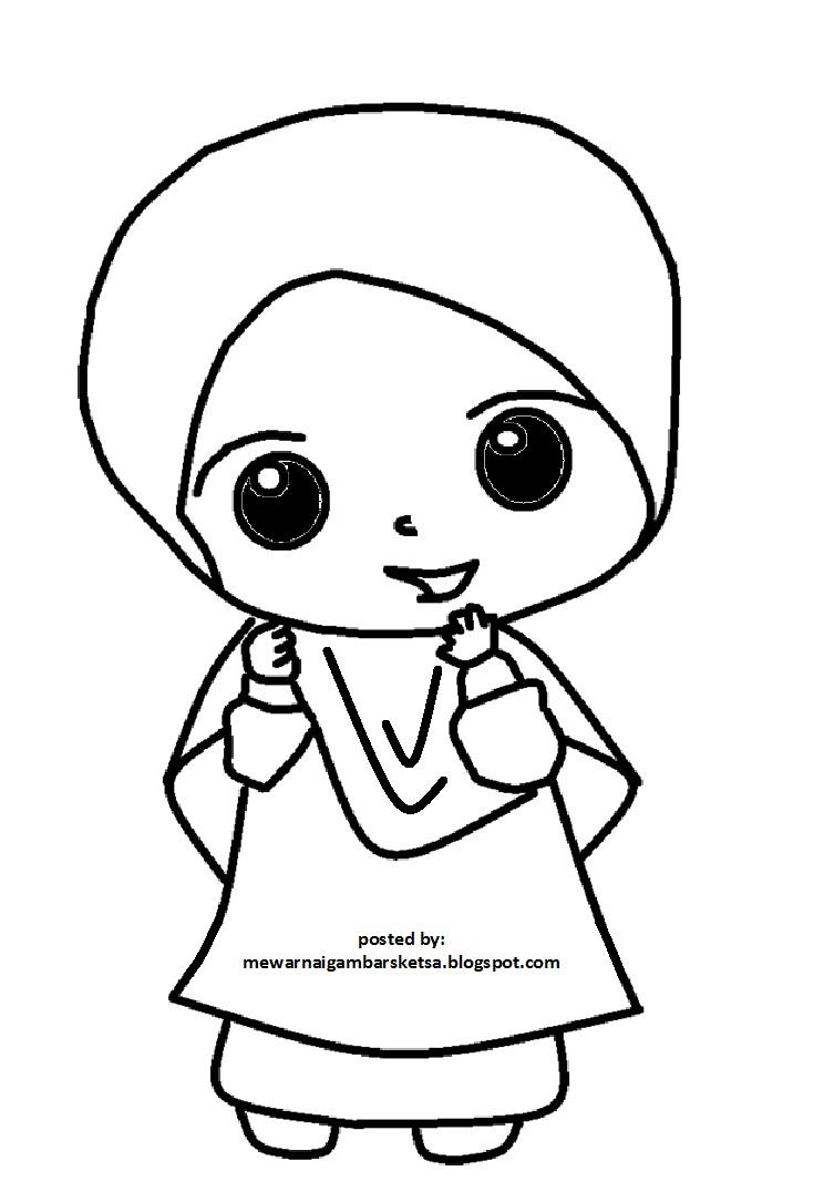 Mewarnai Gambar Mewarnai Gambar Kartun Anak Sekolah 158