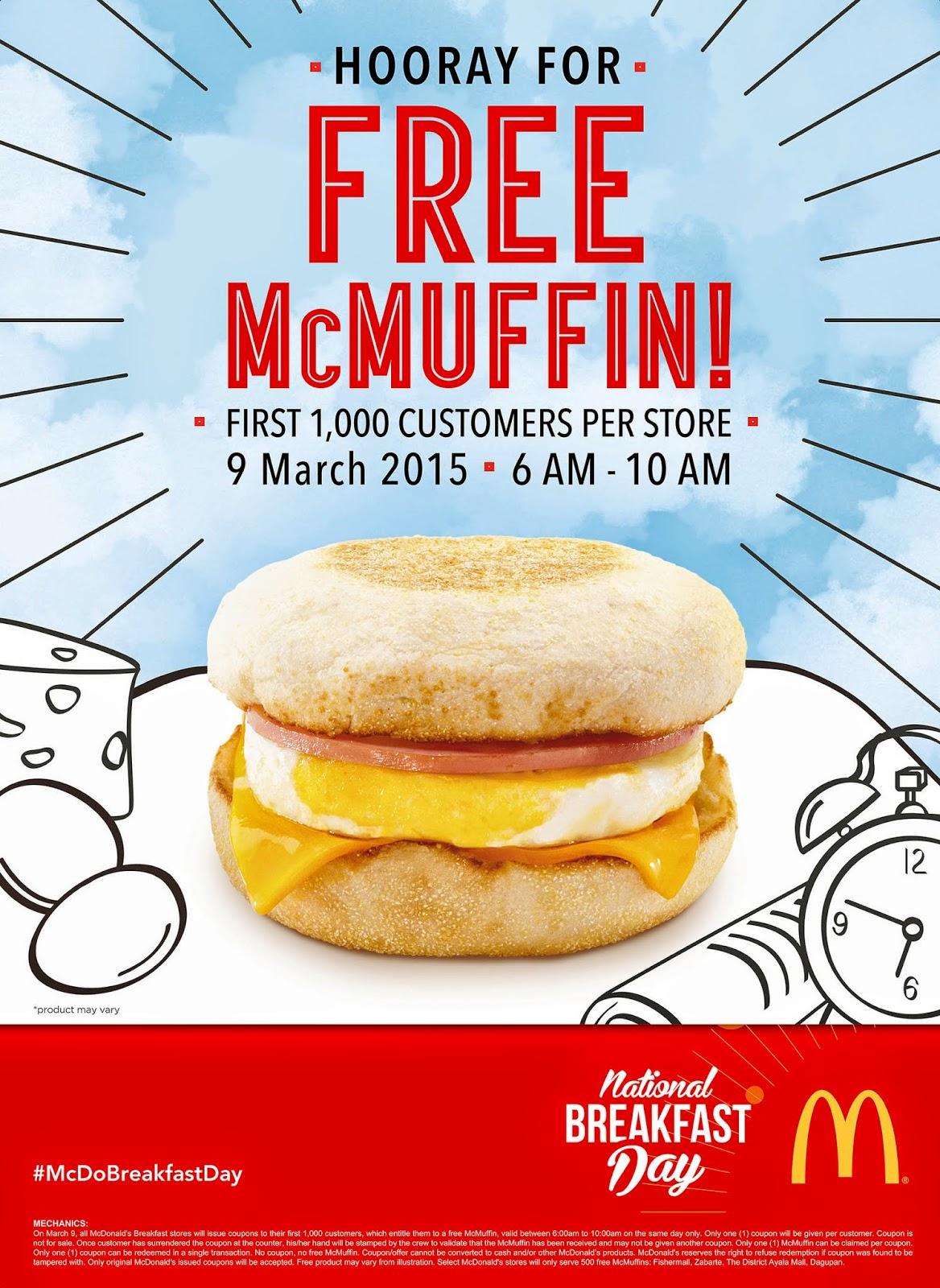 mcdonalds national breakfast day - HD1168×1600