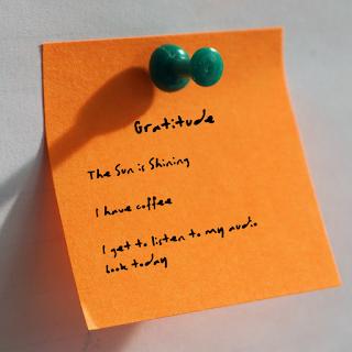 Gratitude makes what we have enough