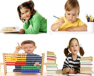 empat jenis atau tipe belajar anak