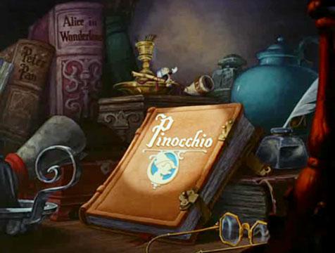 Peter Pan y Alicia en el País de las Maravillas en Pinocho - Cine de Escritor