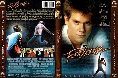 Cover, dvd, caratula: Footloose | 1983