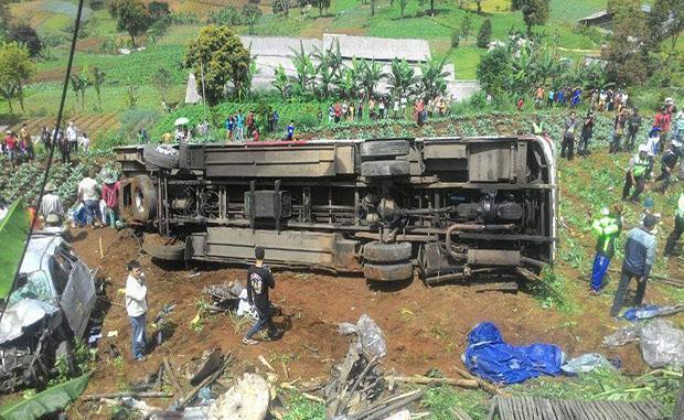 Kecelakaan di Ciloto Puncak