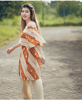 Baju Batik Wanita Modis