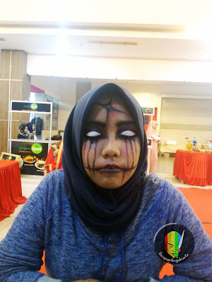 face painting horror