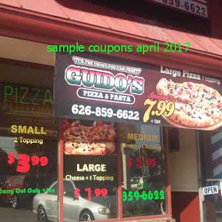 free Guidos Pizza coupons for april 2017