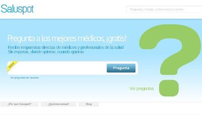 SALUSPOT: La primera comunidad de salud en línea 1
