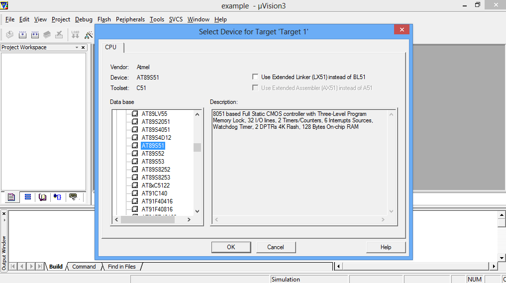 How To Simulate a Program on Keil MicroVision Software