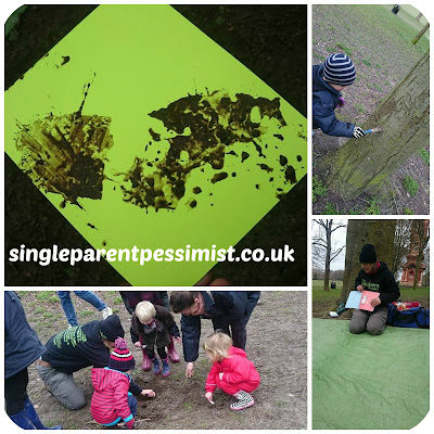 Mud Painting with The Outdoors Project