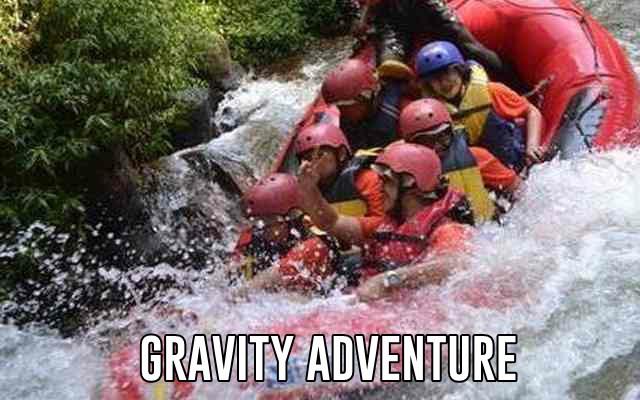 arung jeram sungai palayangan pangalengan bandung gravity adventure