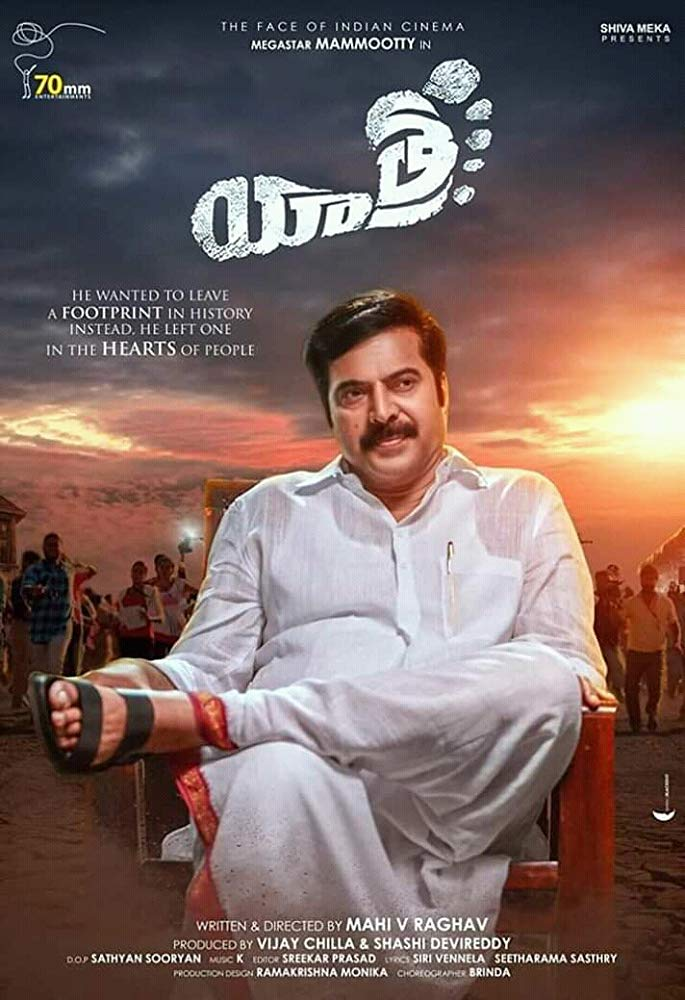 Yatra (2019) Hindi Dubbed 720p