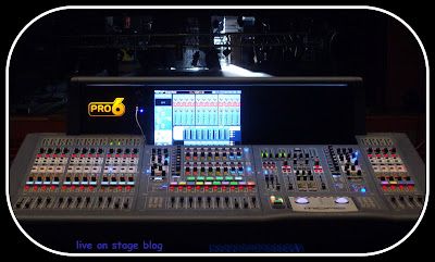 digital mixer Midas Pro6 FOH Elio e le Storie Tese live on stage