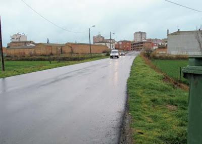 Calle Lepanto de Binéfar