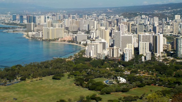 Panorama sur Honolulu
