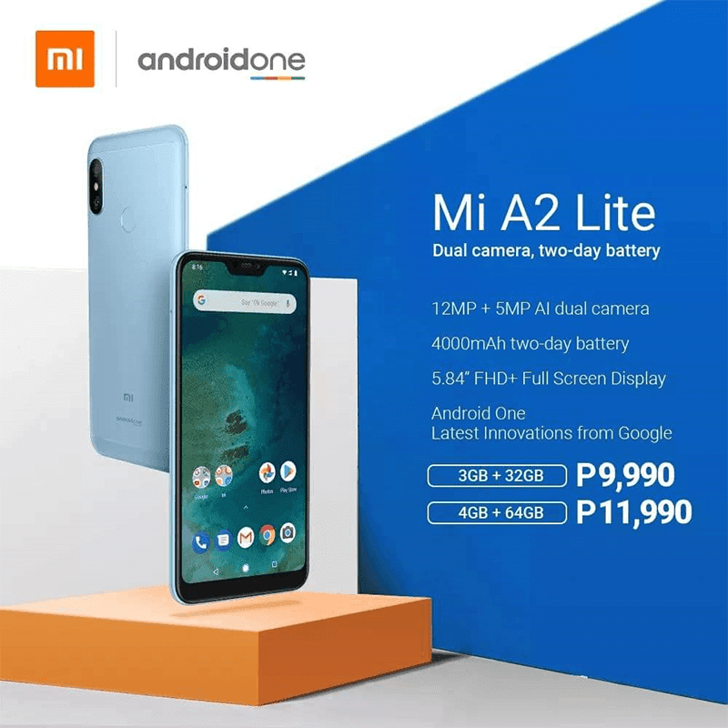 Xiaomi Mi A2 Lite and Mi A2 priced in PH!