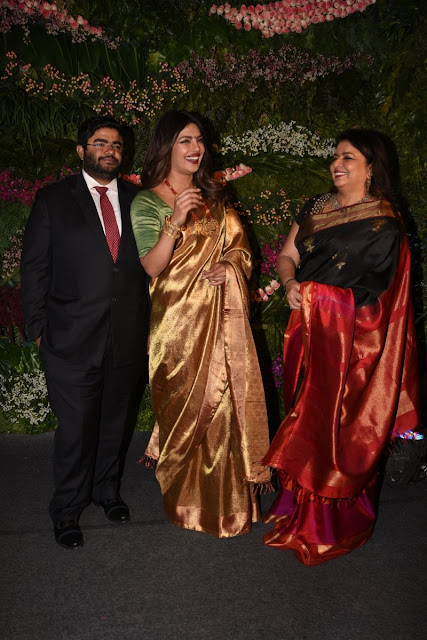 Priyanka Chopra Stills at Virat Kohli and Anushka Sharma Reception