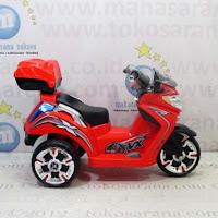 Motor Mainan Aki Pliko PK7100 Mio Red