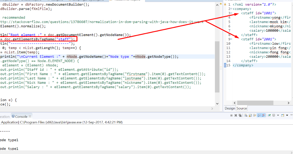 Sap Pi Reference Few Examples Of Reading Xml File In Dom Parser