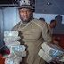 Photo: 50cent flaunts wads of dollar bills on Instagram