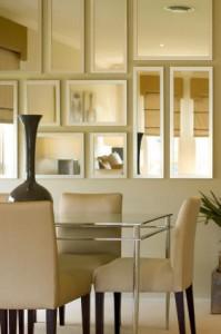 Idea Hiasan Cermin Dinding Ni Pun Boleh Diaplikasikan Pada Bilik Pengantin Sebagai Ganti Kepada Penggunaan Tirai Ataupun Frame Gambar
