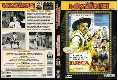 Filme Uma Pistola Para DJeca DVD Capa