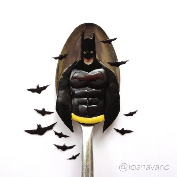 11-Batman-Ioana-Vanc-Food-Art-using-Chocolate-Vegetables-and-Fruit-www-designstack-co