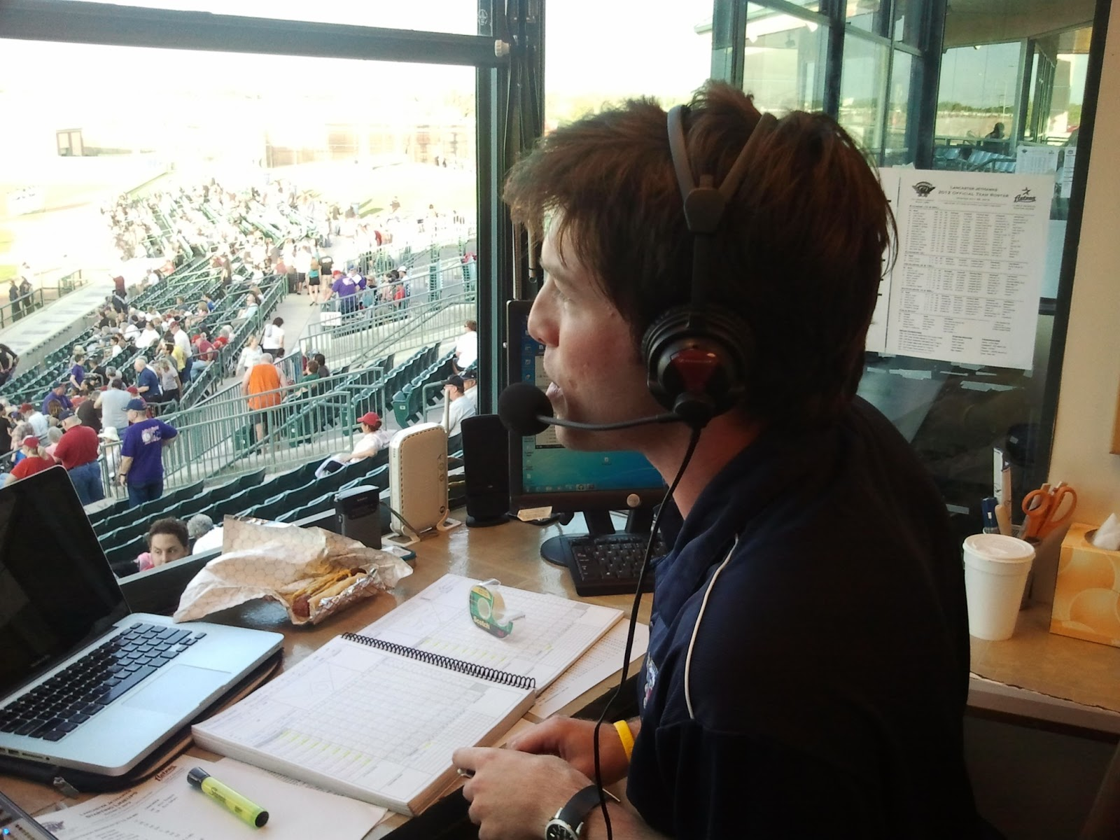 what the heck bobby an interview with lancaster play by play