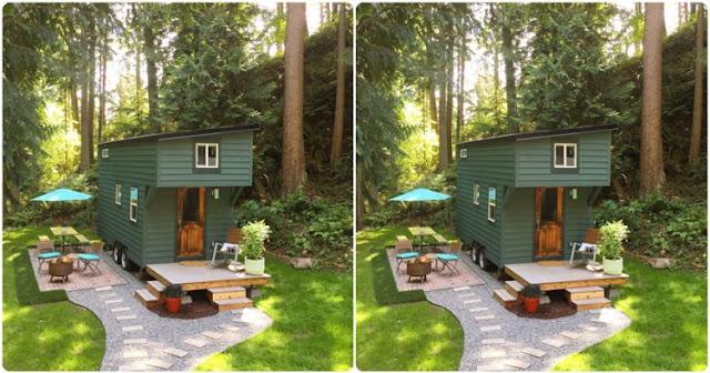Wow !!! Rumah karavan ini memang tampak sempit, tapi kamu akan kaget melihat isi dalamnya loh .