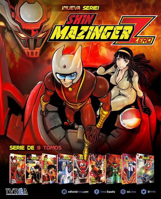 """""""Shin Mazinger Zero"""" de Yoshiaki Tabata y Yuuki Yogo."""