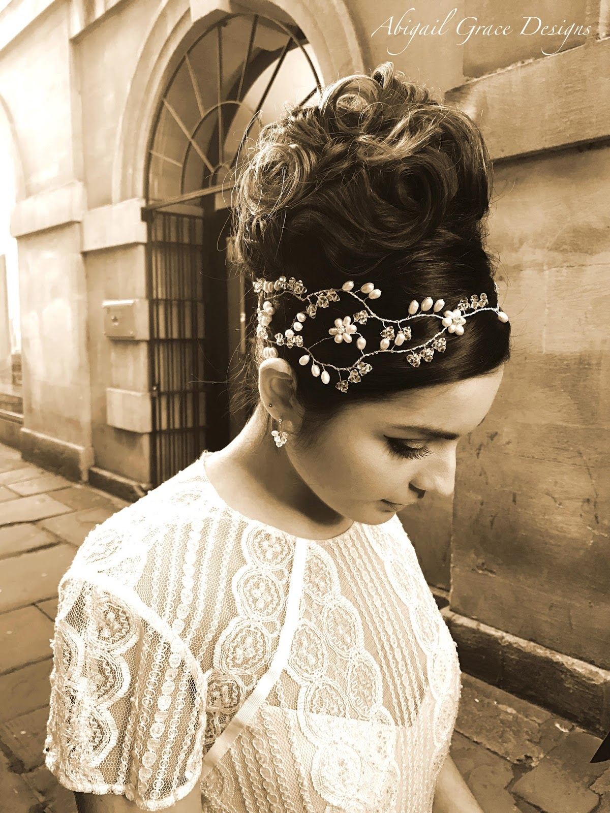 Wedding Hair Accessories Clifton Bristol | Fade Haircut