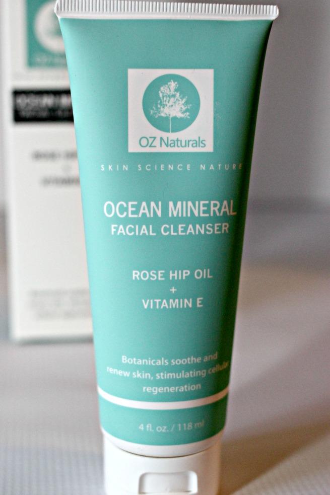 Oz Naturals Ocean Mineral Facial Cleanser Review