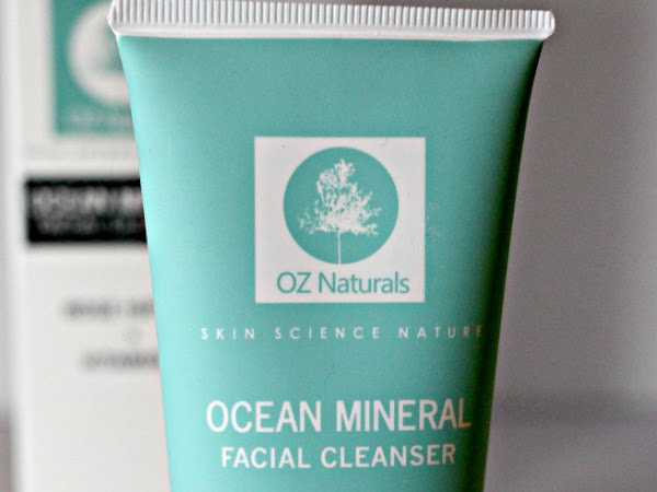 Oz Naturals Ocean Mineral Facial Cleanser Review