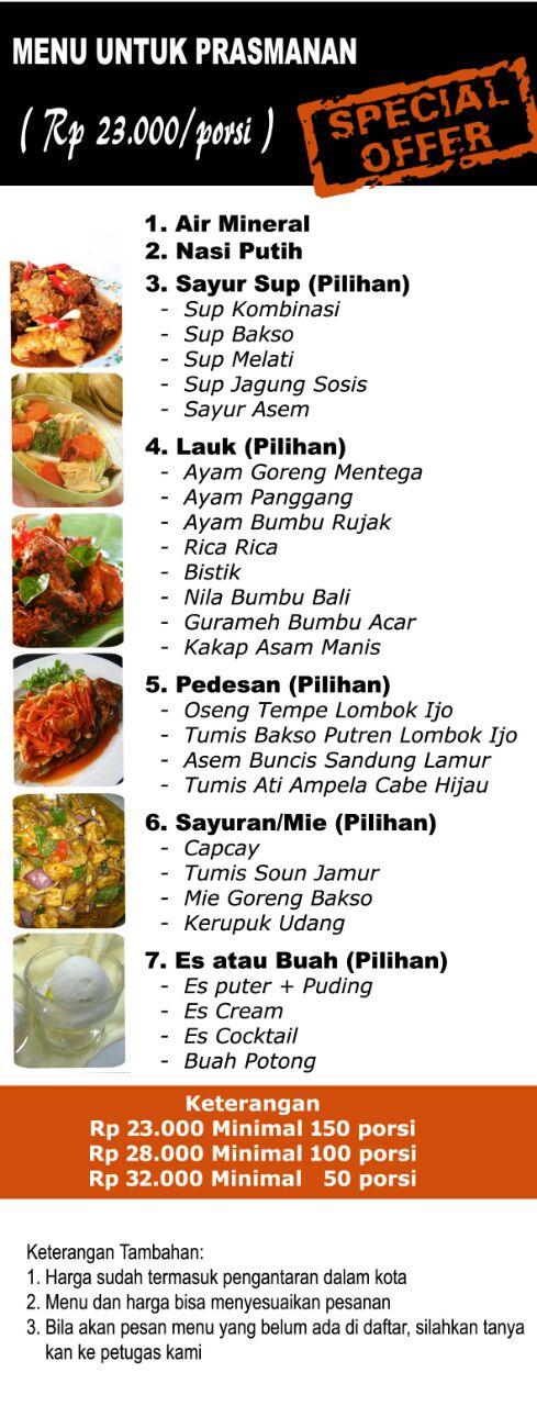 Harga Catering Lebaran Semarang Hubungi 082328080900 Aqiqah Plus