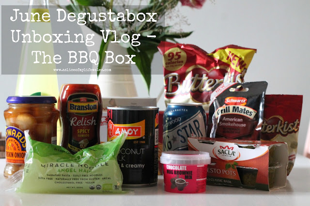 June Degustabox review and unboxing vlog
