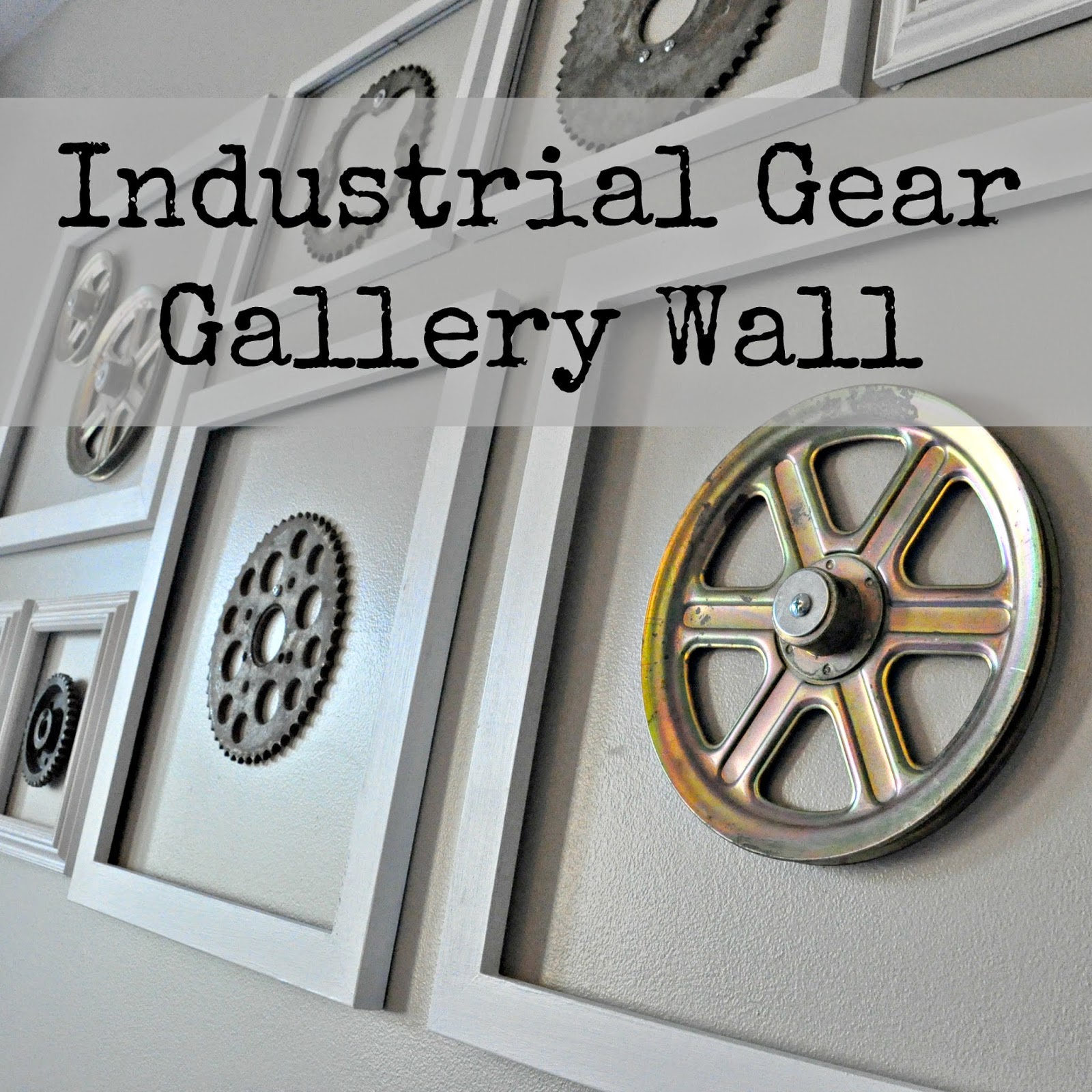 Industrial Gear Gallery Wall