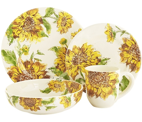 A few weeks ago I went to our local Pier 1 store to pick up a Farm Animals Salad Plate Set that I could not resist. While there I noticed that they had ...  sc 1 st  GAFunkyFarmhouse & GAFunkyFarmhouse: Wish List Wednesdays: Pier 1 Sunflower Blooms ...