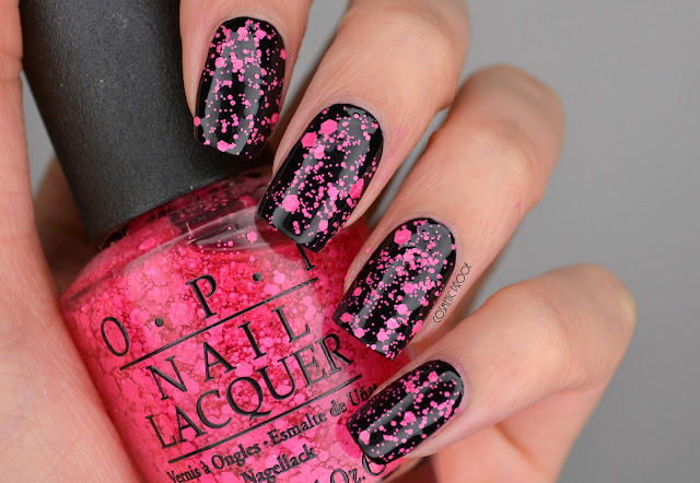 NAILS | OPI On Pinks and Needles #ManiMonday