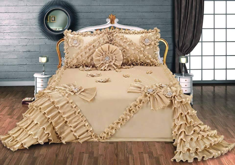 rose yatak örtüsü