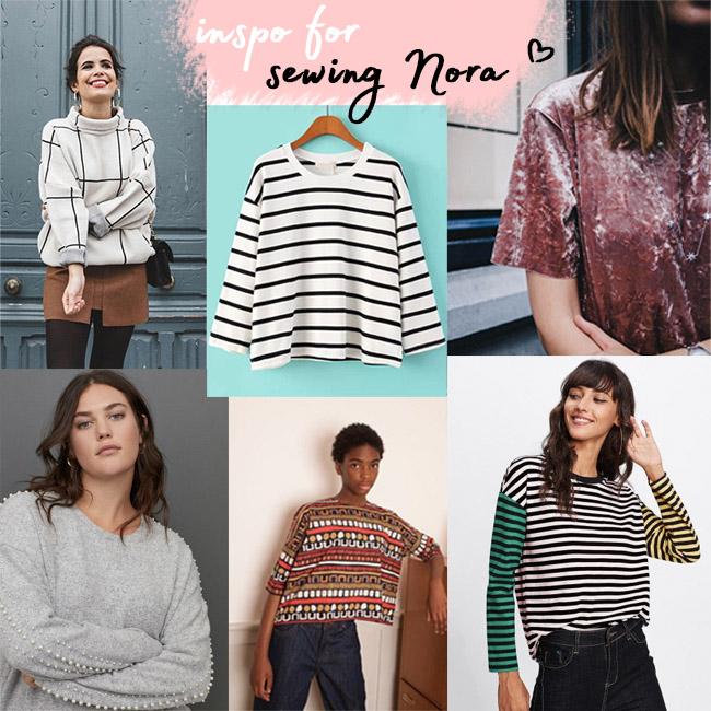 Inspiration and fabrics for making your Nora - by Tilly and the Buttons