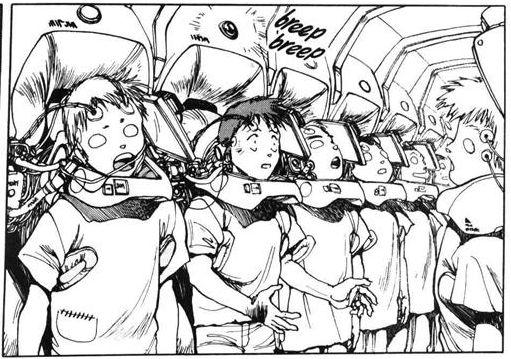 Resultado de imagem para ghost in the shell manga